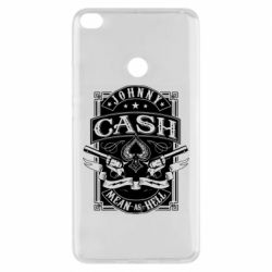 Чохол для Xiaomi Mi Max 2 Johnny cash mean as hell