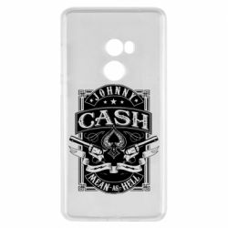 Чохол для Xiaomi Mi Mix 2 Johnny cash mean as hell