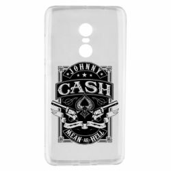 Чохол для Xiaomi Redmi Note 4 Johnny cash mean as hell