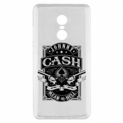 Чохол для Xiaomi Redmi Note 4x Johnny cash mean as hell