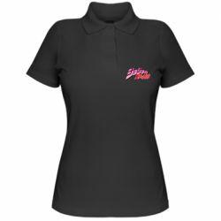 Женская футболка поло JoJo's Bizarre Adventure logotype