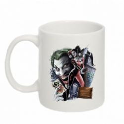 Кружка 320ml Joker, Batman, Harley Quinn - FatLine