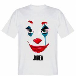 Мужская футболка Joker face
