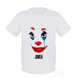 Детская футболка Joker face