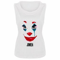 Женская майка Joker face
