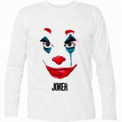 Футболка с длинным рукавом Joker face