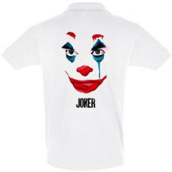 Мужская футболка поло Joker face