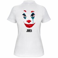 Женская футболка поло Joker face