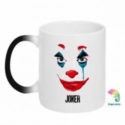 Кружка-хамелеон Joker face