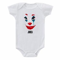 Детский бодик Joker face