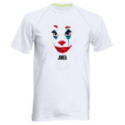 Мужская спортивная футболка Joker face