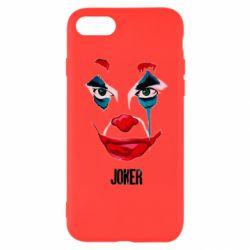 Чехол для iPhone 7 Joker face
