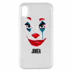 Чехол для iPhone X/Xs Joker face