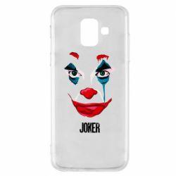 Чехол для Samsung A6 2018 Joker face
