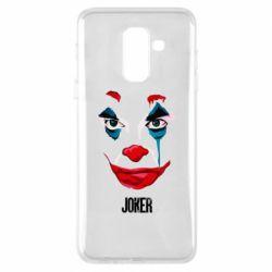 Чехол для Samsung A6+ 2018 Joker face