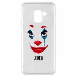 Чехол для Samsung A8 2018 Joker face