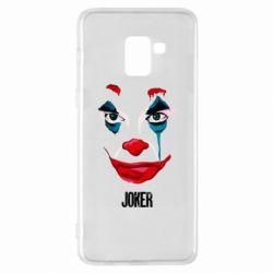 Чехол для Samsung A8+ 2018 Joker face