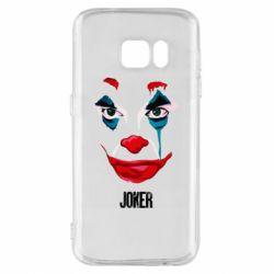 Чехол для Samsung S7 Joker face