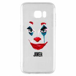 Чехол для Samsung S7 EDGE Joker face