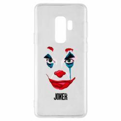Чехол для Samsung S9+ Joker face