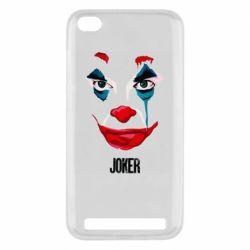 Чехол для Xiaomi Redmi 5A Joker face