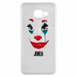 Чехол для Samsung A3 2016 Joker face