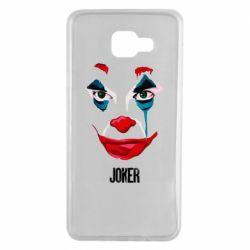 Чехол для Samsung A7 2016 Joker face