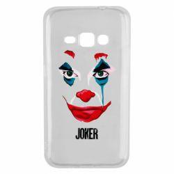 Чехол для Samsung J1 2016 Joker face