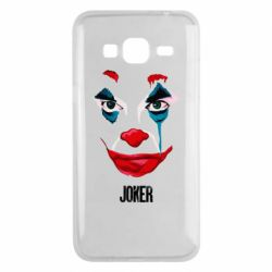 Чехол для Samsung J3 2016 Joker face