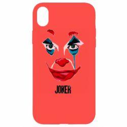 Чехол для iPhone XR Joker face