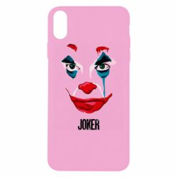 Чехол для iPhone Xs Max Joker face