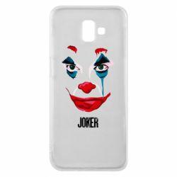 Чехол для Samsung J6 Plus 2018 Joker face