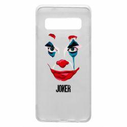 Чехол для Samsung S10 Joker face