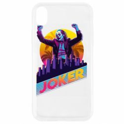 Чехол для iPhone XR Joker neon