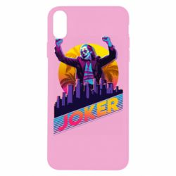 Чехол для iPhone Xs Max Joker neon