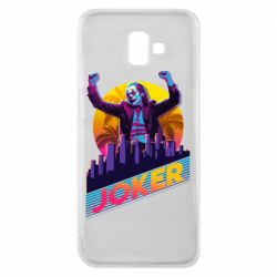 Чехол для Samsung J6 Plus 2018 Joker neon