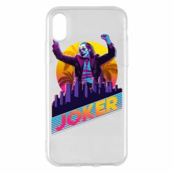 Чехол для iPhone X/Xs Joker neon