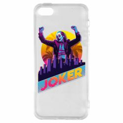 Чехол для iPhone5/5S/SE Joker neon