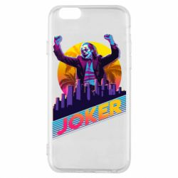 Чехол для iPhone 6/6S Joker neon