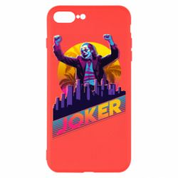 Чехол для iPhone 8 Plus Joker neon