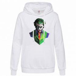 Женская толстовка Joker Poly Art