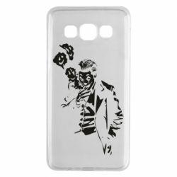 Чехол для Samsung A3 2015 Joker smokes and smiles