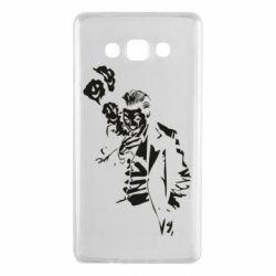 Чехол для Samsung A7 2015 Joker smokes and smiles