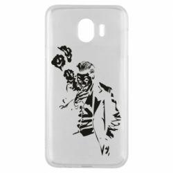 Чехол для Samsung J4 Joker smokes and smiles