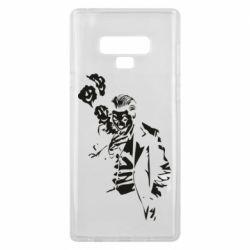 Чехол для Samsung Note 9 Joker smokes and smiles