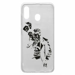 Чехол для Samsung A30 Joker smokes and smiles