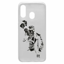 Чехол для Samsung A40 Joker smokes and smiles