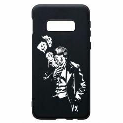 Чехол для Samsung S10e Joker smokes and smiles