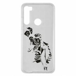 Чехол для Xiaomi Redmi Note 8 Joker smokes and smiles