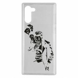 Чехол для Samsung Note 10 Joker smokes and smiles